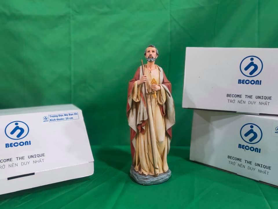 Tượng Công Giáo - Tượng Thánh Phero - BECONI - 25 cm