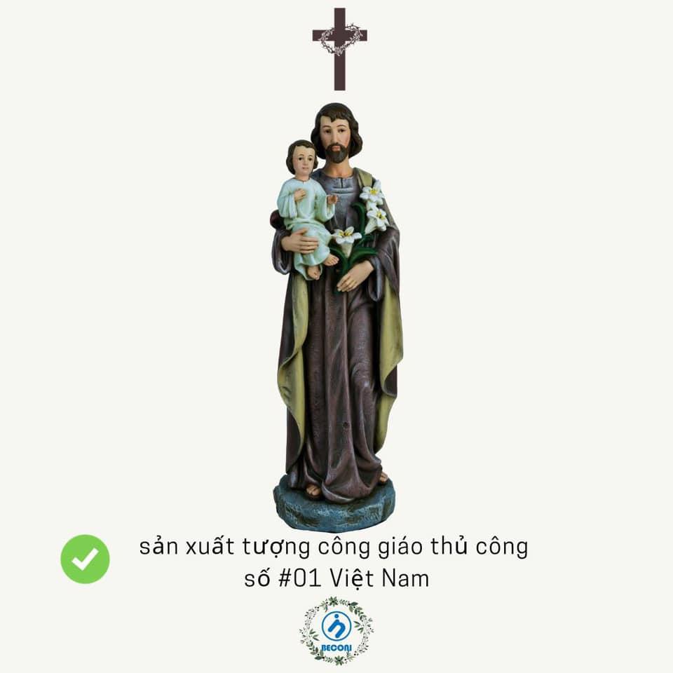 Tượng Công Giáo Italia sản xuất tại Việt Nam. Beconi Việt Nam.