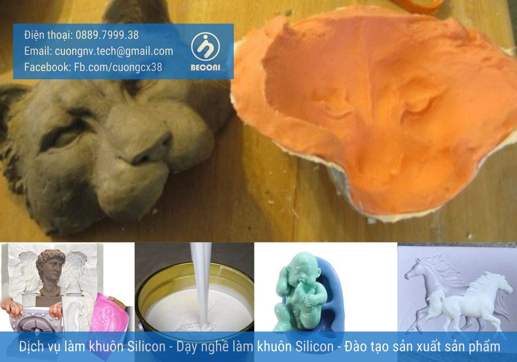 Cách làm khuôn silicon - Dạy/đào tạo làm khuôn - Dịch vụ silicon - Hỗ trợ làm khuôn và gia công sản phẩm Composite/ Resin/ keo/ Sáp nến/ Sáp thơm/ Xà Bông.