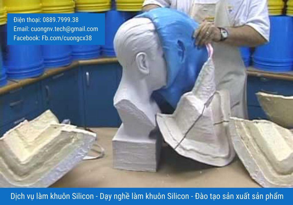 Cách dạy làm khuôn silicon - Dạy/đào tạo làm khuôn - Dịch vụ silicon - Hỗ trợ làm khuôn và gia công sản phẩm Composite/ Resin/ keo/ Sáp nến/ Sáp thơm/ Xà Bông.