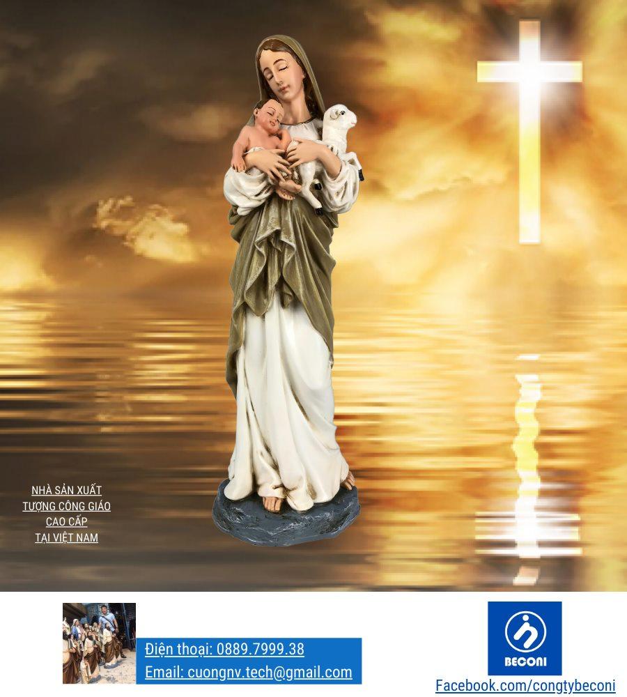 Tượng Đức Mẹ Chăn Chiên là Tượng Công Giáo đẹp