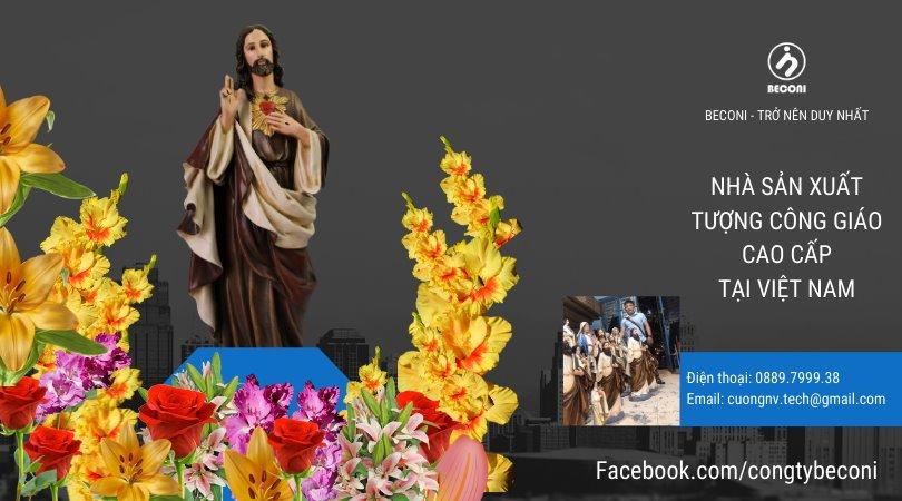 Tượng Chúa Trái Tim - Beconi