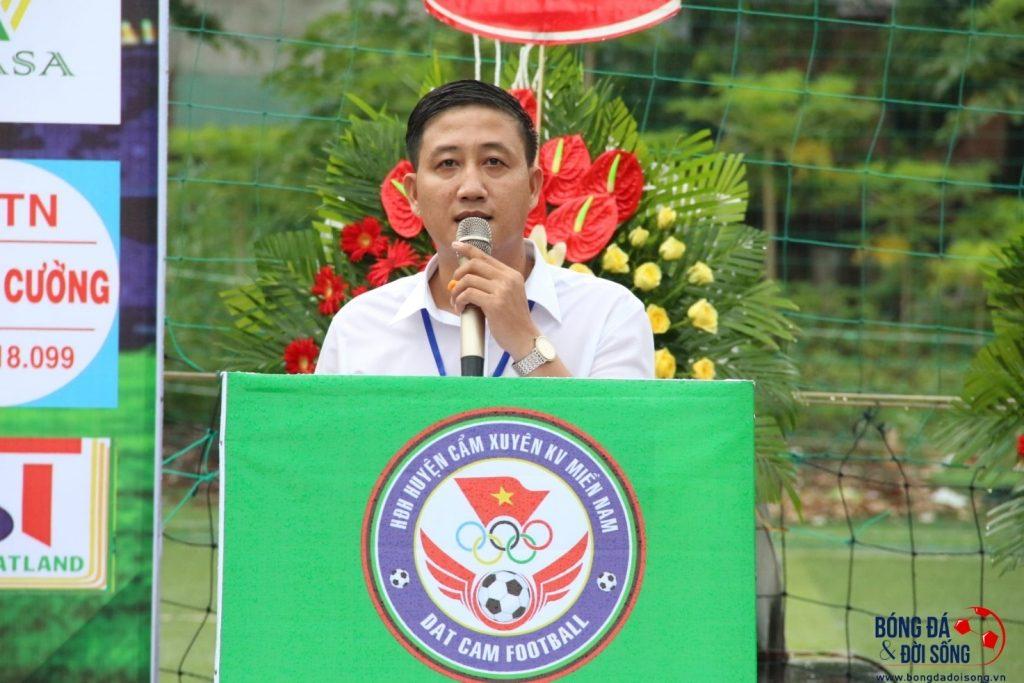 Anh Nguyễn Văn Duyến - Trưởng BTC Giải đấu CUP Đất Cẩm