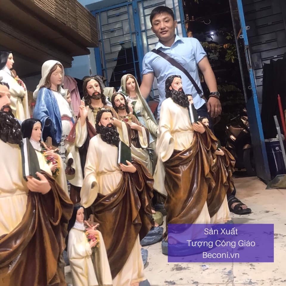 Video BECONI phục chế Tượng Đức Mẹ – Tượng Công Giáo BECONI