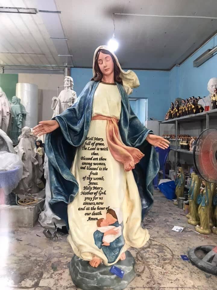 Tượng Công Giáo Cổ Điển Cao Cấp | Chất liệu Polyresinvà Composite, Thạch Cao, Gỗ, Đá… | Đúc Tượng Công Giáo Cao Cấp.
