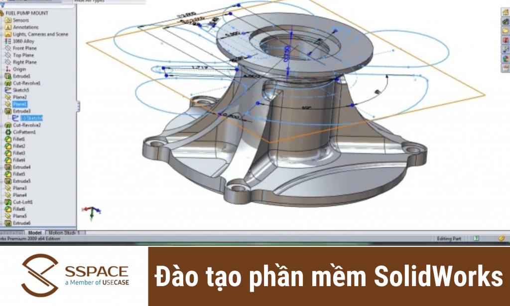 Học SolidWorks tphcm chứng chỉ quốc tế