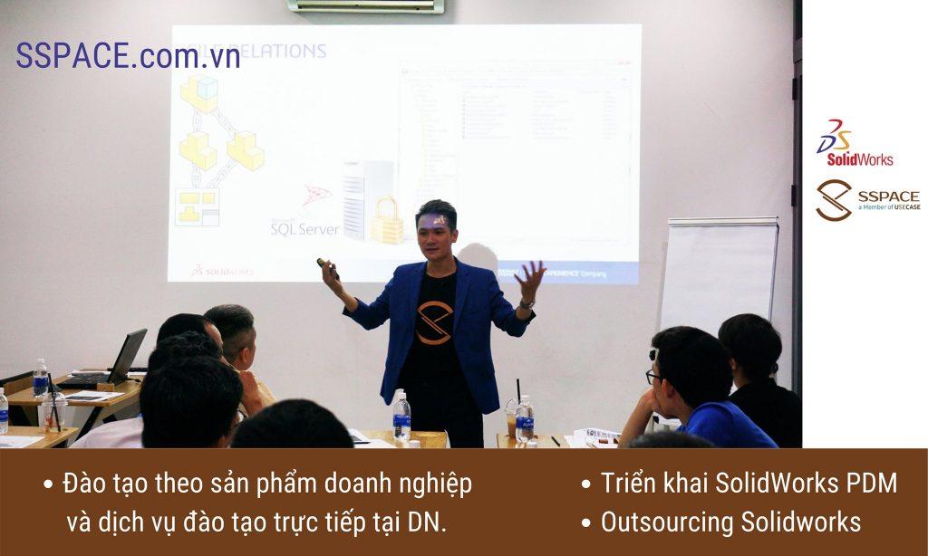 """SolidWorks PDM là gì / Mô hình SW PDM là gì hay Hệ thống SW PDM là gì? và dịch vụ đào tạo triển khai hệ thống PDM tại Việt Nam. PDM là viết tắt của chữ """" Product Data Management """" là một dạng phần mềm chuyên dùng để quản lí dữ liệu tạo ra từ các phần mềm CAD/CAM."""