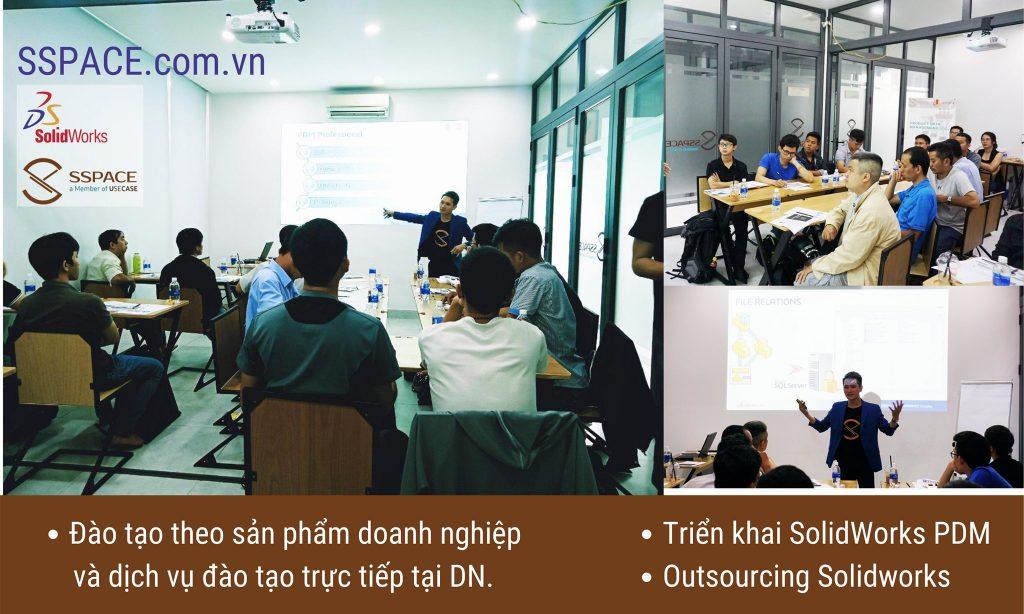 Triển khai SolidWorks PDM - Đào tạo trực tiếp tại Doanh nghiệp