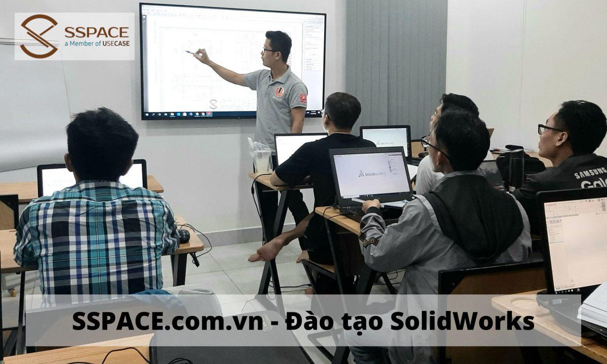Tổng hợp các chương trình giảng dạy đào tạo SolidWorks tại SSPACE
