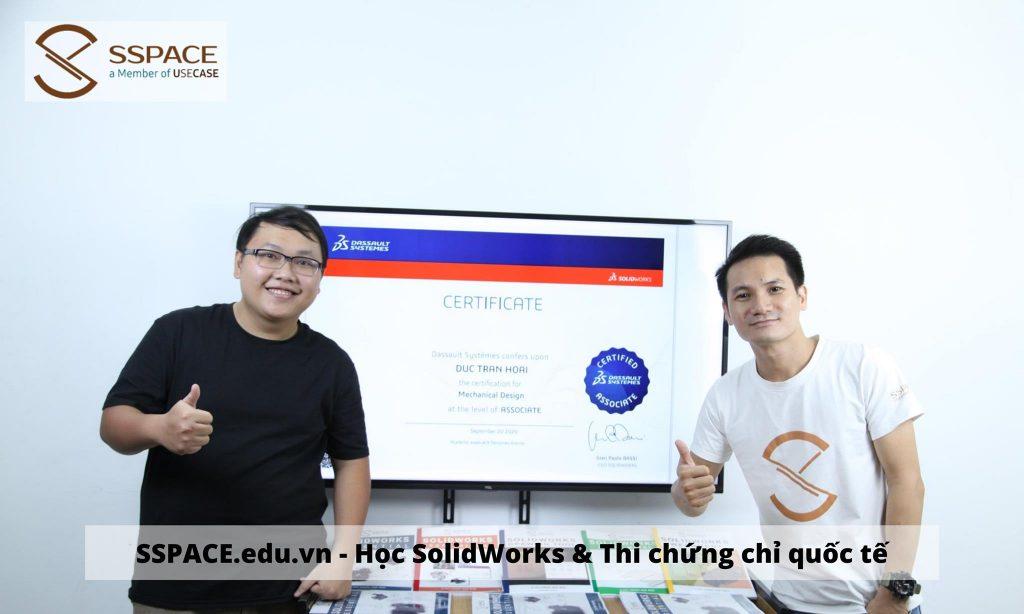 nhận chứng chỉ SolidWorks