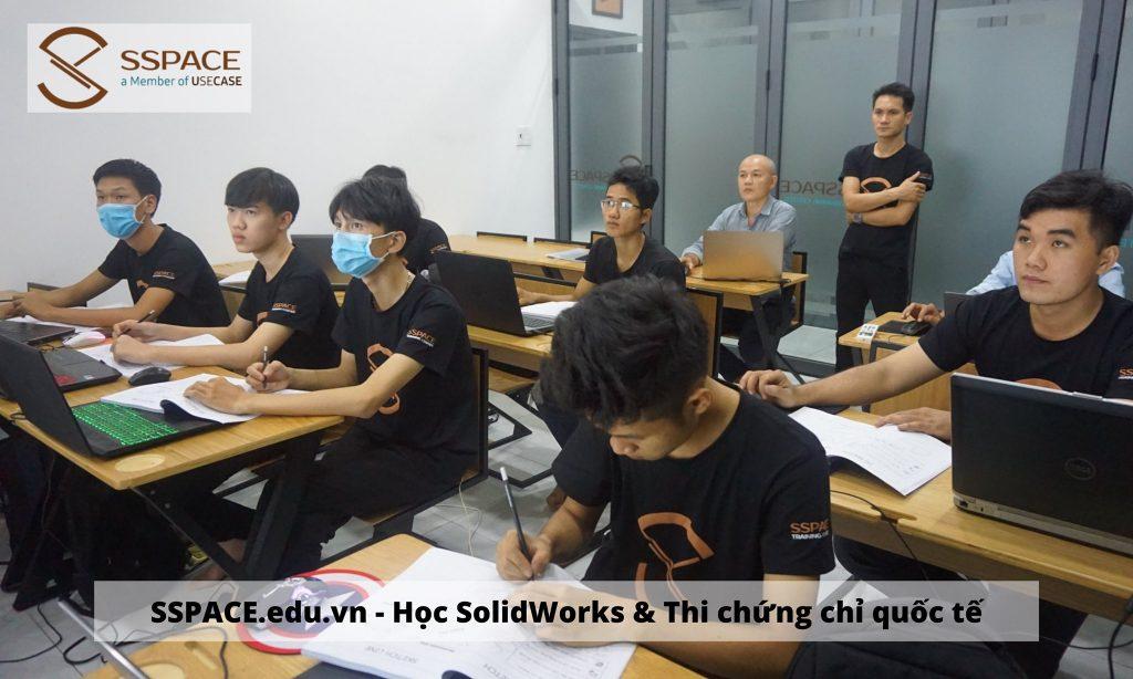 Học Solidworks ở Thủ Đức (quận Thủ Đức - TPHCM). Trung tâm đào tạo SSPACE đáp ứng nhu cầu đào tạo, hướng nghiệp, giới thiệu việc làm SolidWorks...