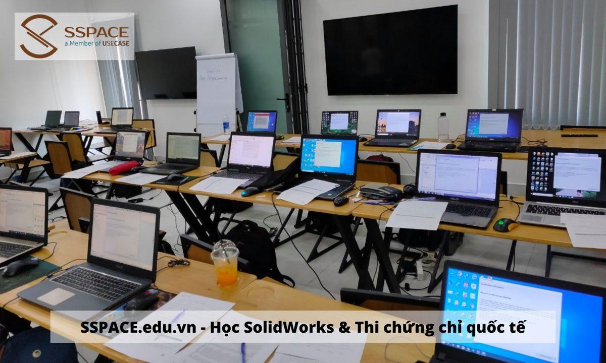 Khóa học SolidWorks online – Tự chủ thời gian – Kiến thức đầy đủ.