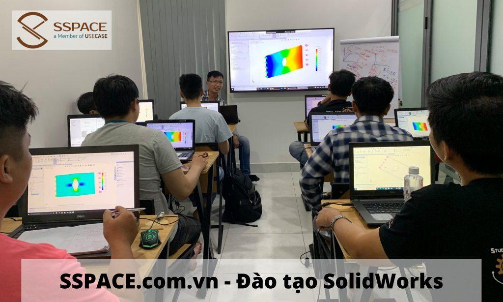 Đào tạo / Giảng dạy / Học Solidworks ở Thủ Đức (quận Thủ Đức - TPHCM). Trung tâm đào tạo SSPACE đáp ứng nhu cầu đào tạo, hướng nghiệp, giới thiệu việc làm SolidWorks…