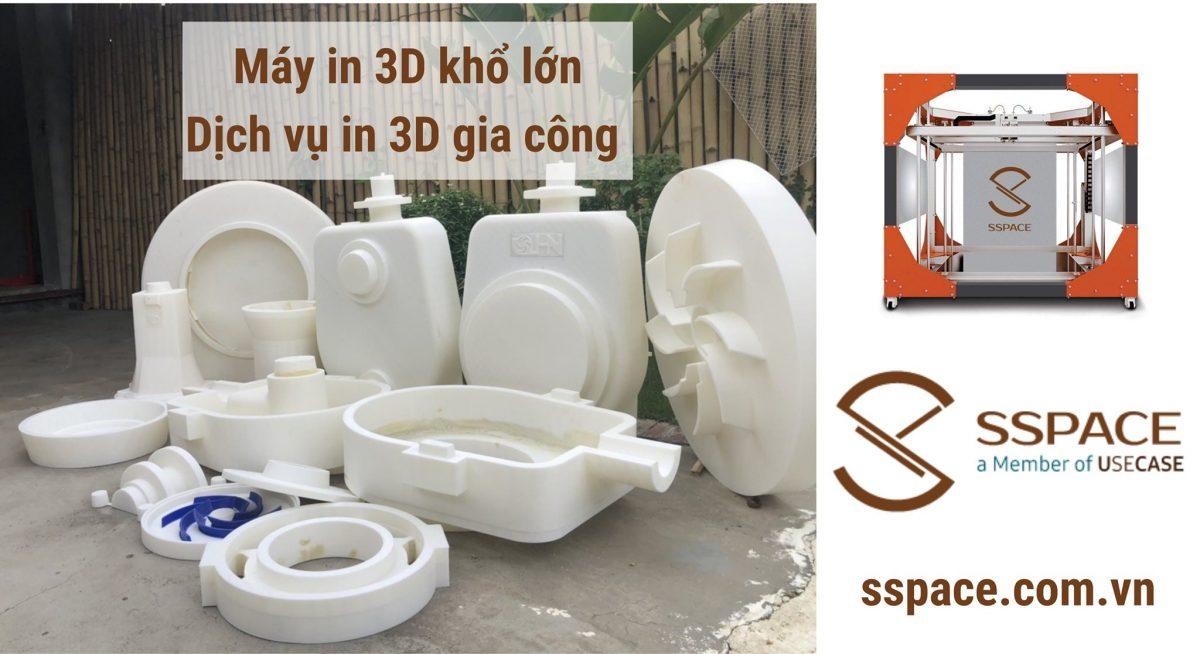 Dịch vụ in 3D TPHCM – In 3D gia công kích thước lớn giá rẻ