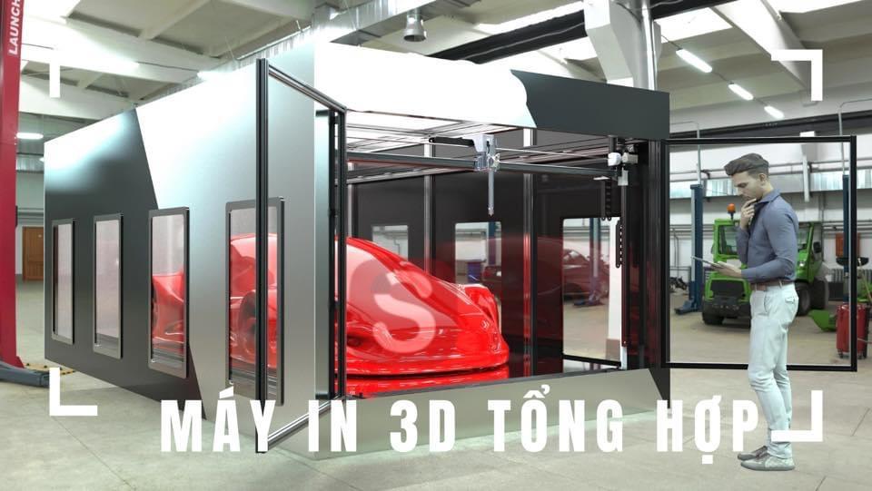 Máy in 3D đang bán tại Việt Nam – TỔNG HỢP và BÁO GIÁ