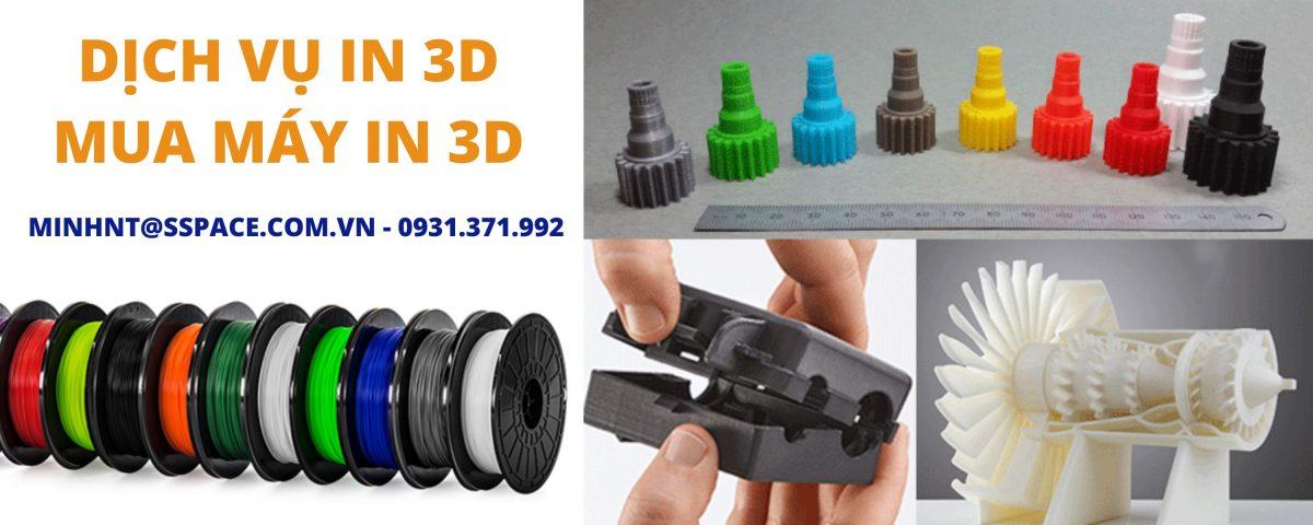 Cung cấp máy in 3D và dịch vụ in 3D giá rẻ tại Bình Phước