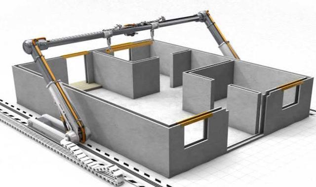 Ngôi nhà in 3D tại Trung Quốc – Biệt thự 45 ngày – Cách mạng KHCN TK21
