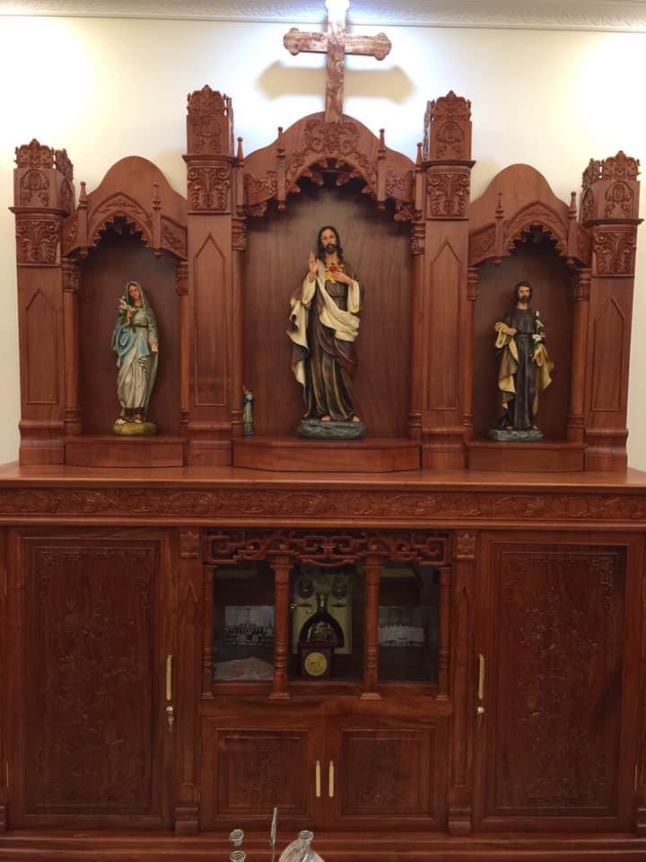 Bàn Thờ Công Giáo đẹp | Tượng Công Giáo Beconi