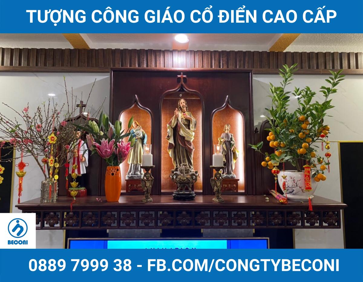 Bàn Thờ Công Giáo Cao Cấp tại Việt Nam | 99+ Mẫu đẹp nhất