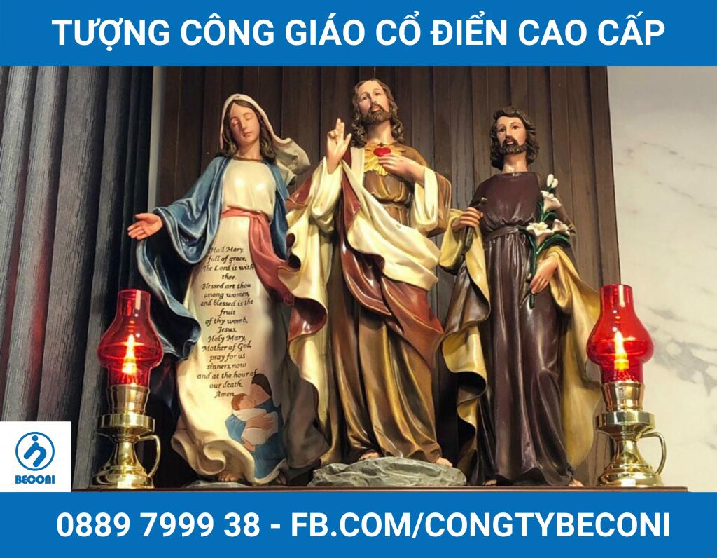 Bắt nguồn từ nét văn hóa của Phương Tây, ngày nay việc trưng thờ Tượng Công Giáo cũng trở thành một điều không thể thiếu trong các gia đình theo Đạo Công Giáo nói riêng và những Kito hữu nói chung tại Việt Nam. Tại Việt Nam, có rất nhiều những đơn vị sản xuất, và kinh doanh Tượng Công Giáo từ nhiều năm nay, những bức Tượng Công Giáo đẹp đã và đang đi vào đời sống tinh thần của những Kito hữu.