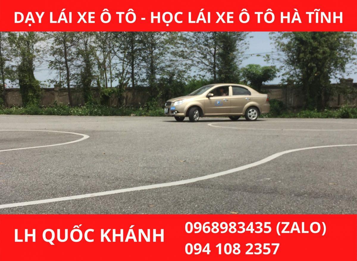 Dạy lái xe ô tô uy tín- Học lái xe ô tô B1/ B2 Hà Tĩnh