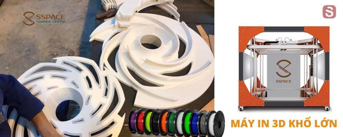 Dịch vụ in 3D và sản xuất máy in 3D khổ lớn tại Thanh Hóa