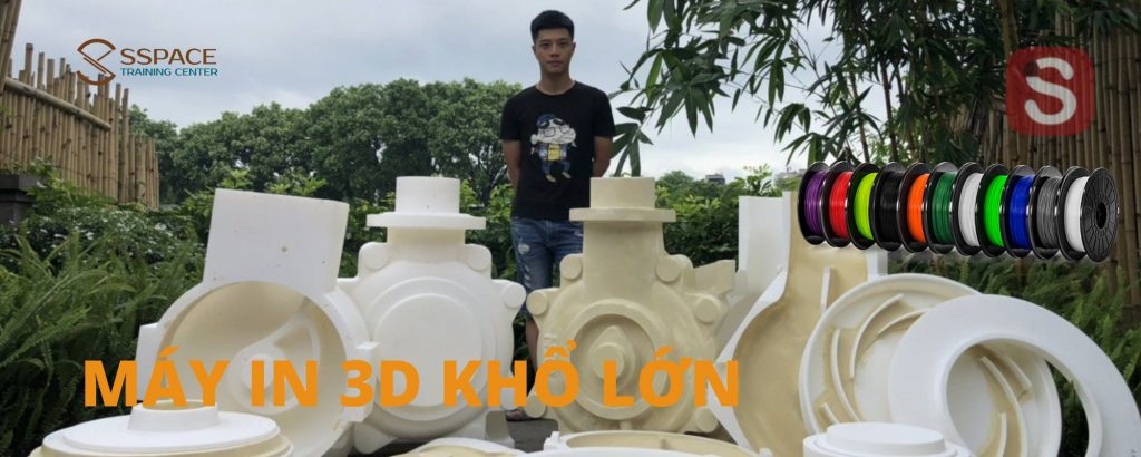 Dịch vụ in 3D và sản xuất máy in 3D khổ lớn tại Thanh Hóa / Nghệ An / Hà Tĩnh / Quảng Bình / Quảng Trị...