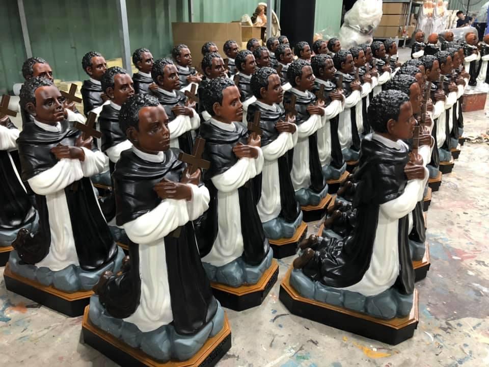 tượng tổng lãnh thiên thần milkae tượng thánh giuse bế chúa bộ tượng thờ công giáo tượng thánh martino tượng lòng chúa thương xót