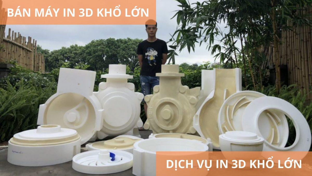 Báo giá máy in 3D khổ lớn SSPACE | Máy tạo mẫu nhanh