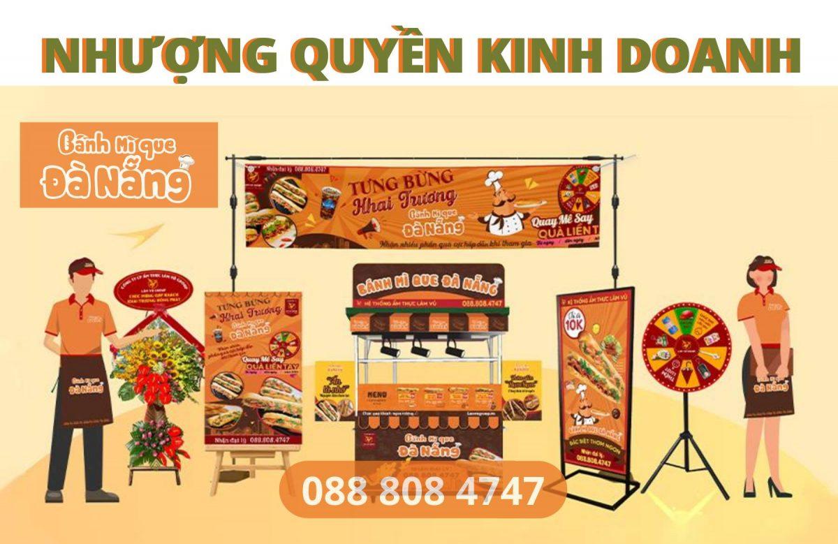 Nhượng quyền Bánh Mì Que Đà Nẵng – Xu Hướng Kinh Doanh 2021