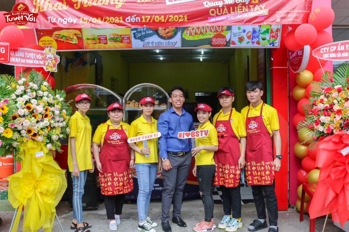 Nhượng quyền đồ ăn sáng, quán ăn sáng & thương hiệu ăn sáng tại Việt Nam