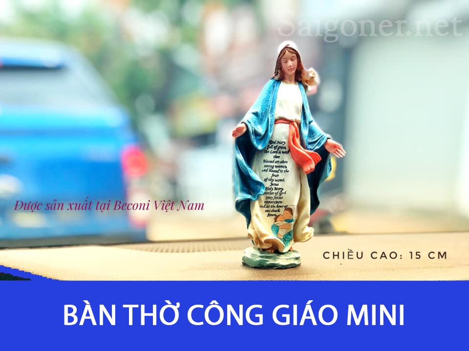 Bàn Thờ Công Giáo Mini