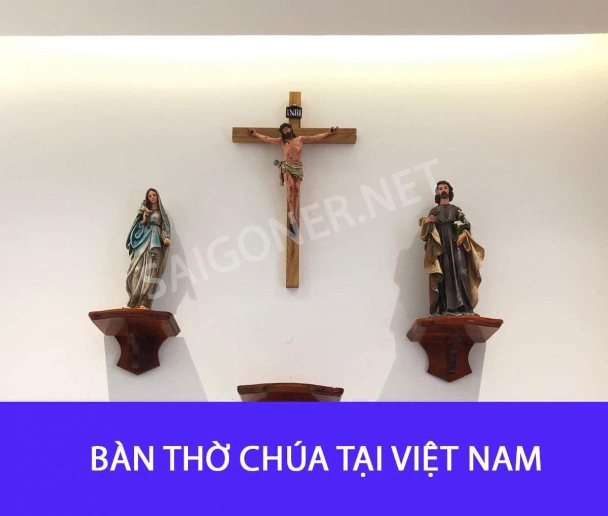 Bàn thờ Chúa tại Việt Nam