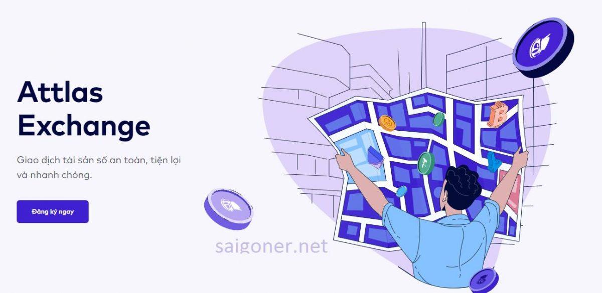 Sàn Attlas Exchange – Sàn Giao dịch tài sản số cho Người Việt
