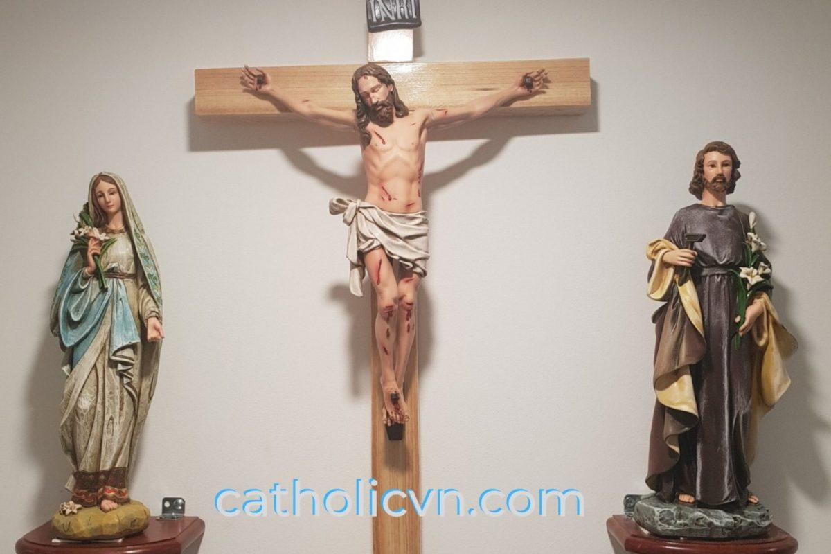 Những điều nên làm khi đặt bàn thờ Công Giáo
